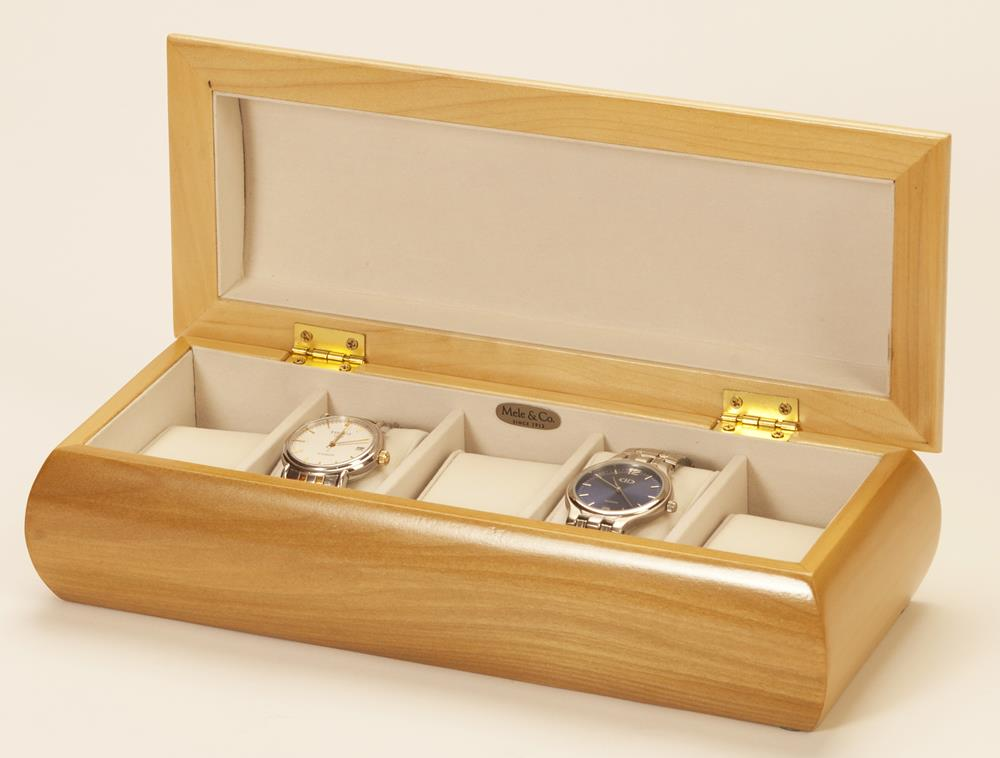 Champagne Rose 5 watch box