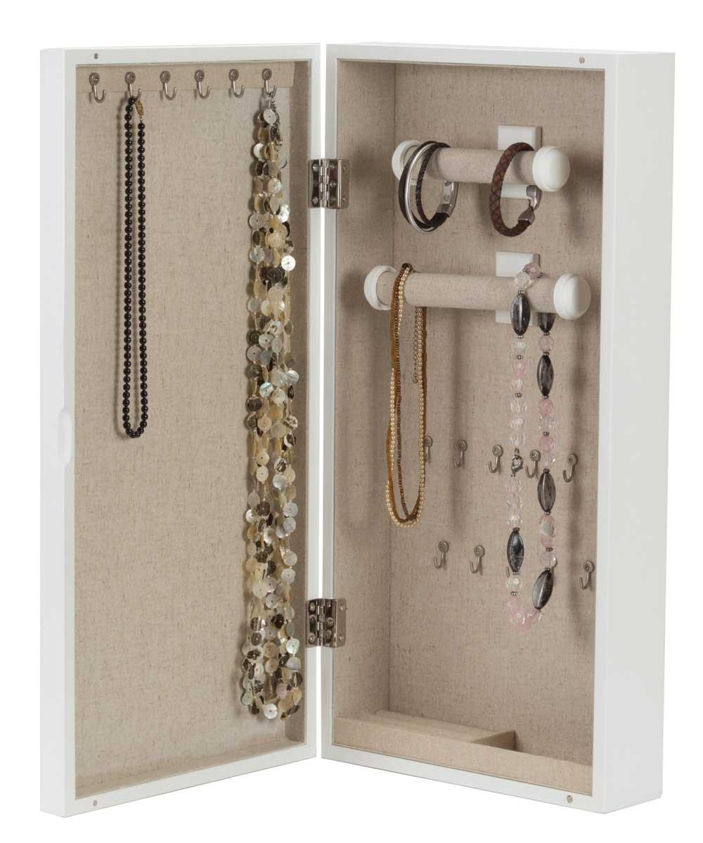 Susan wall mounted jewellery cabinet