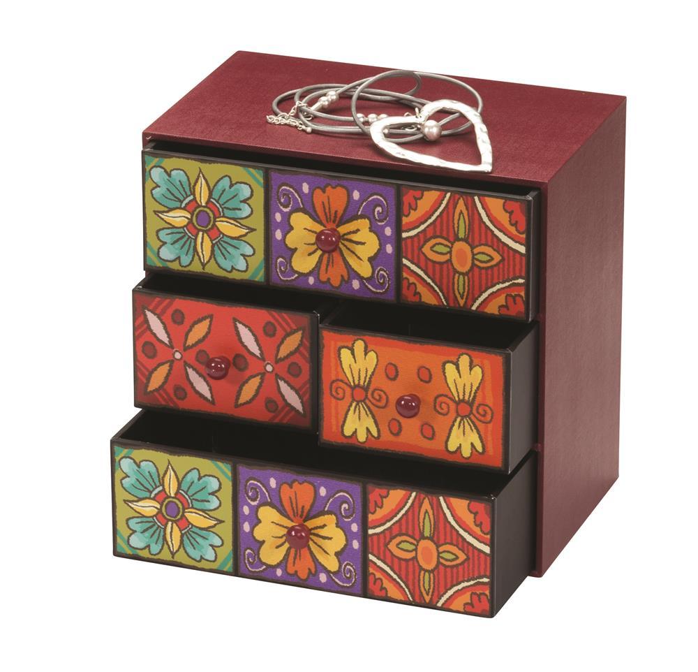 teplice jewellery drawers