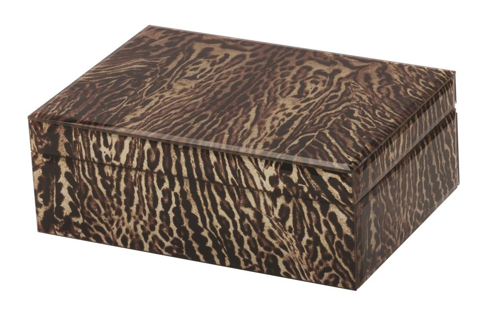 New - Madison Animal print jewel case