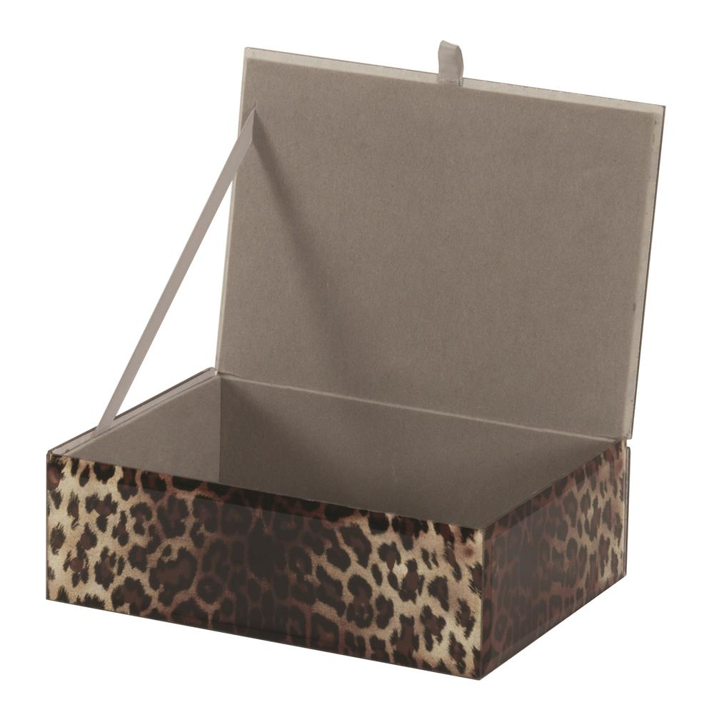 New - Caitlin Animal print jewel case