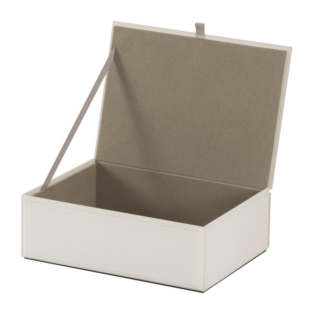 New -  Helen White glass jewel case