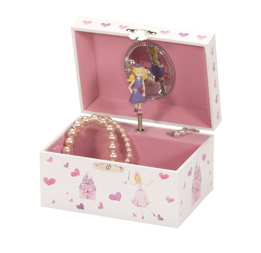 Anne Princess and Castle Musical Jewel Case