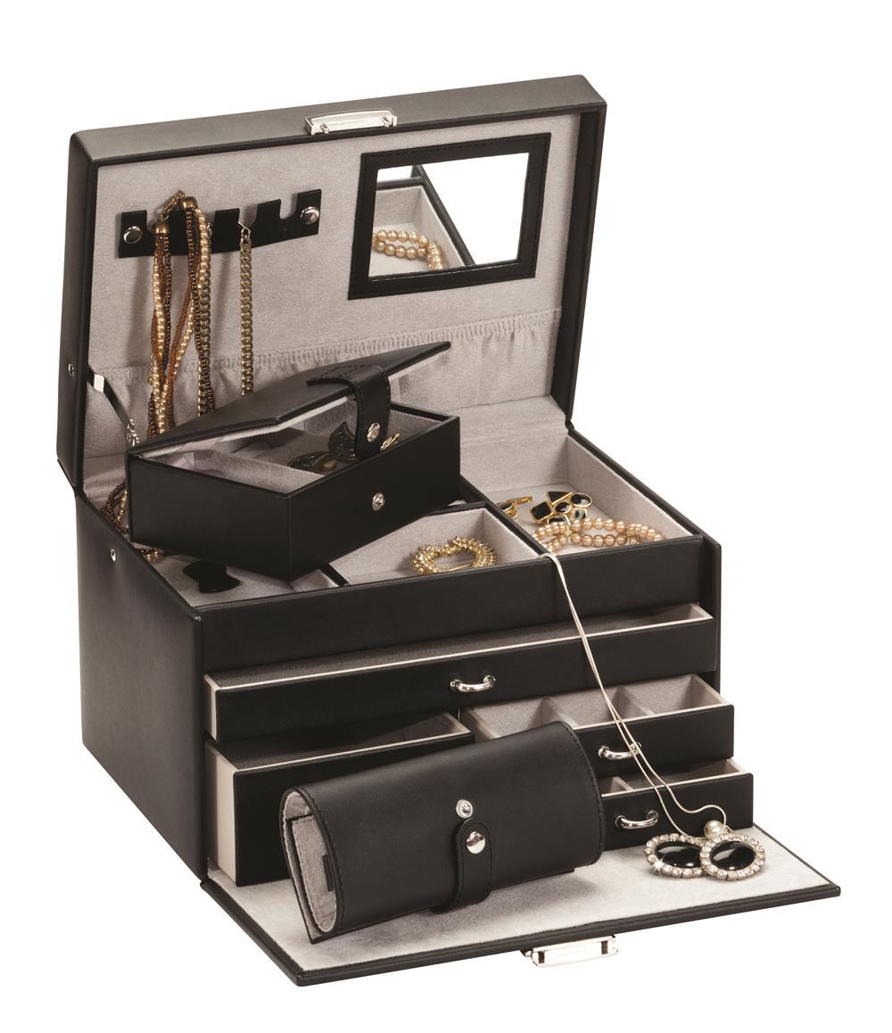 Duchess black jewel case