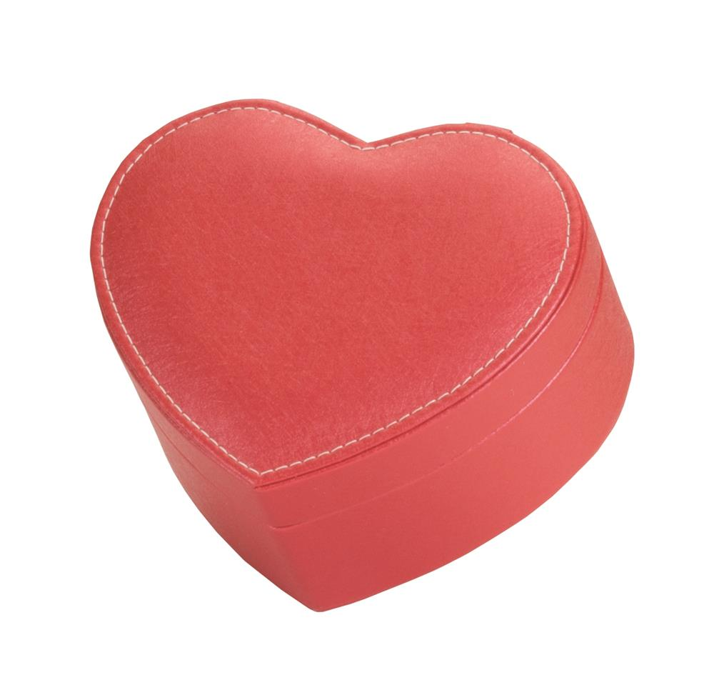 Bianca Heart Shaped Jewel Case