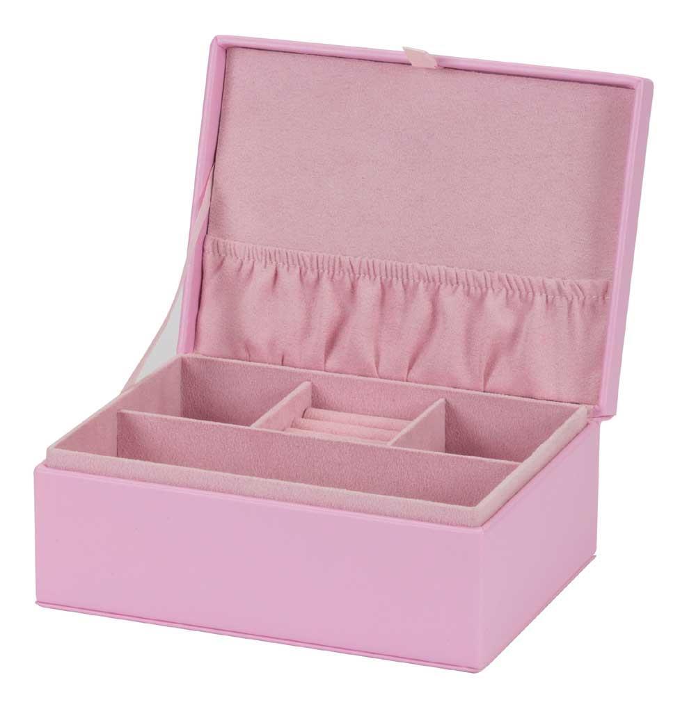 Pippa soft pink PU jewel case