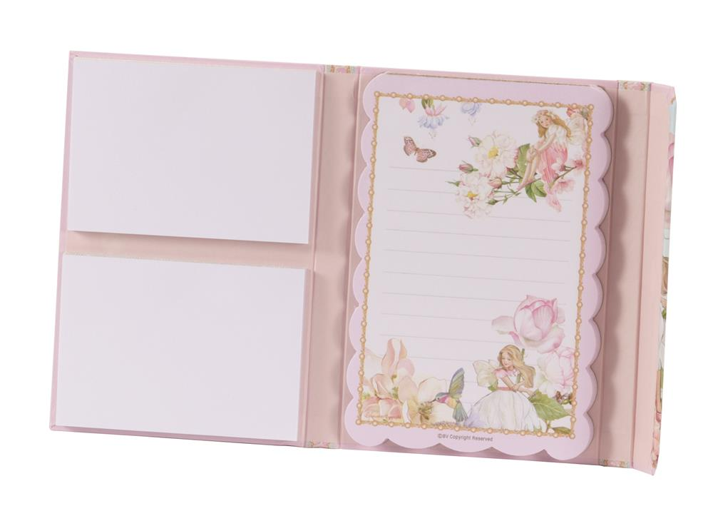 New - Rose fairy Design Notepad and Shopping List Set