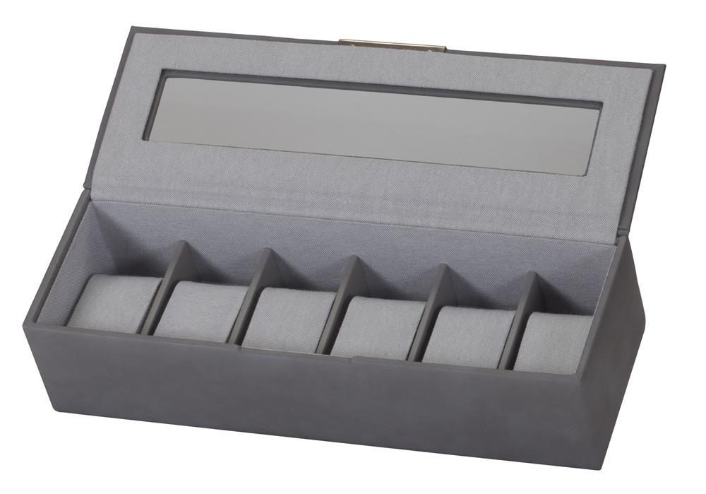 Sam Stone Grey Watch Box